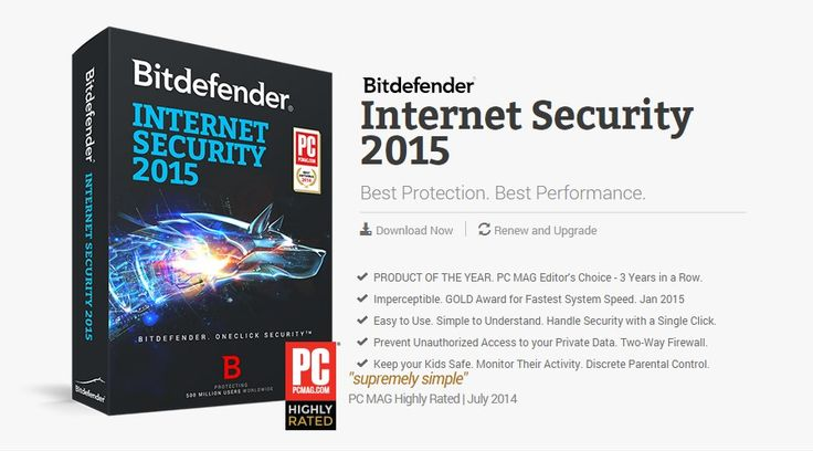 Bitdefender Internet Security 2015 Promo