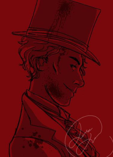 My brain did a thing. Have a fancy top hat Jaxon.THE BONE SEASONand all characters and concepts related©Samantha ShannonArt©Leiana Leatutufu