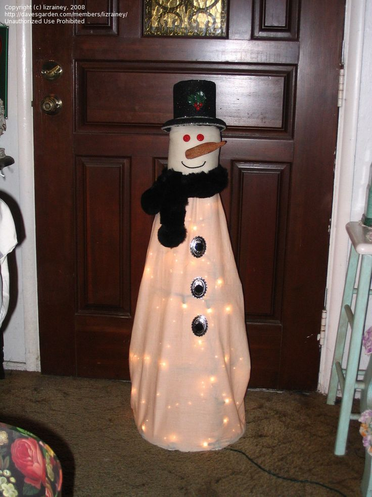 Snowman Made From Tomato Cage: Tomato Cages, Christmas Crafts, Tomatoes Cage, Holidays Decor, Christmas Decor, Christmas Ideas, Cage Snowman, Cage Ideas, Snowman Tomatoes