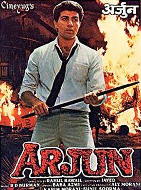 Arjun (1985 Film) Hindi Movie Online - Sunny Deol, Dimple Kapadia, Satyajeet, Raj Kiran, Anupam Kher, Supriya Pathak and A.K. Hangal. Directed by Rahul Rawail. Music by Rahul Dev Burman. 1985 [U] ENGLISH SUBTITLE