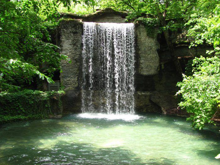 6. Silver Dollar City waterfall – Branson, Mo.