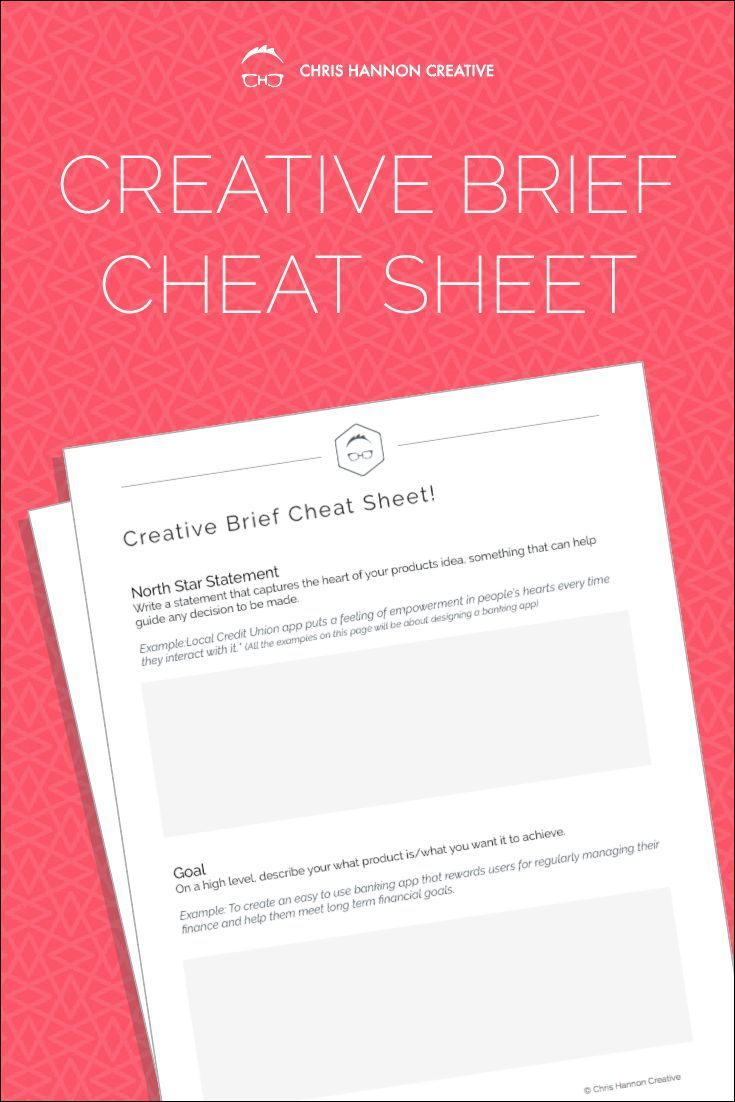 The Creative Brief Template Pdf For Graphic Designers And Ux