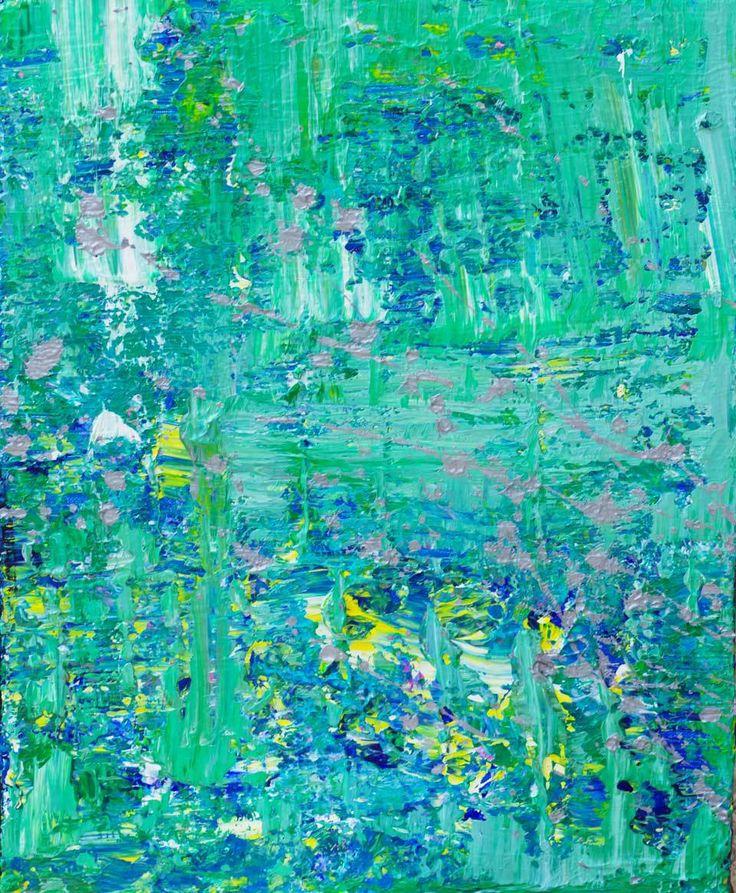 Ocean Waves: Niam Jain Autism Artist: Abstract Art