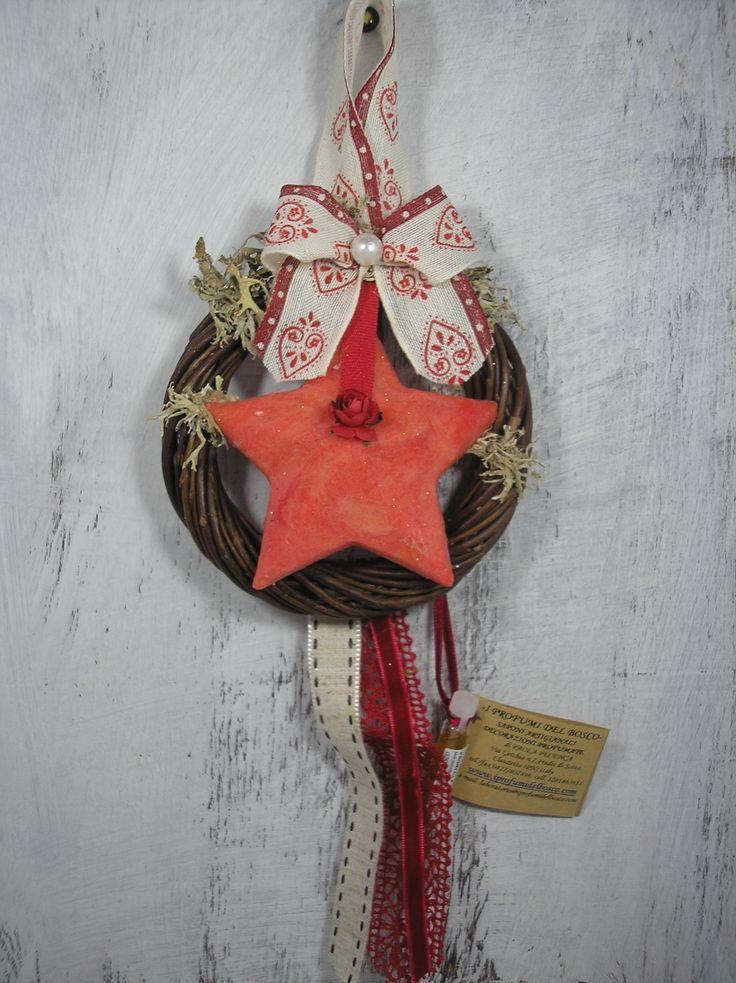 Sapone artigianale a forma di stella profumato con la litsea cubeba o profumazione degli Angeli