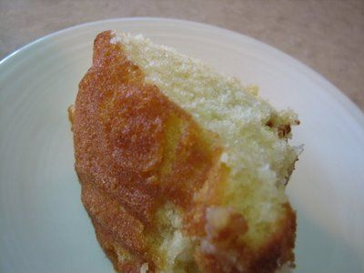 HOT MILK CAKE: One old fashioned recipe that I have found is a version of a depression recipe. Simple, but oh so good.