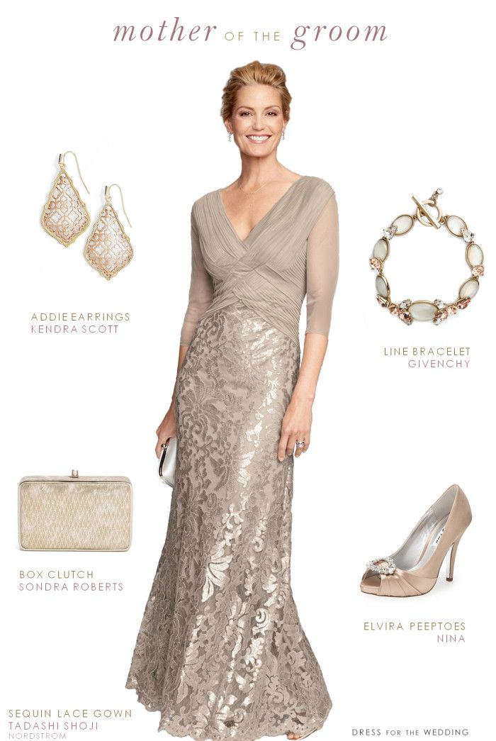 Neutral dress and outfit for the Mother-of-the-Bride or Mother-of-the-Groom