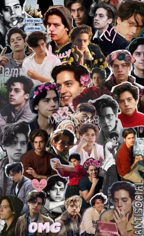 Pin by madalyn on Collages Cole sprouse lockscreen, Cole