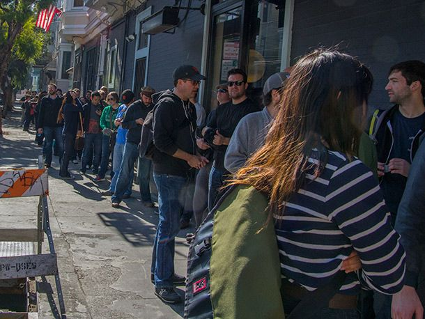 This Is What the Line for Pliny the Younger Looks Like | Serious Eats: Drinks