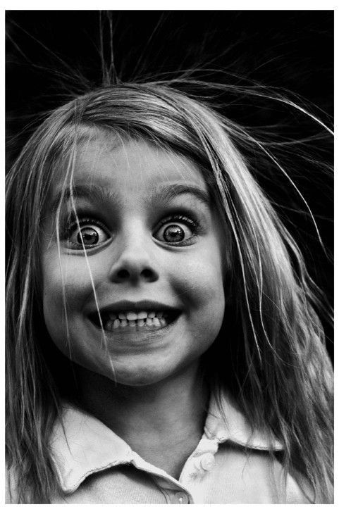 Surprised blonde child #funnyface