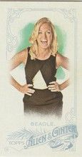 2015 Topps Allen & Ginter Mini A&G Back #92 Michelle Beadle - Sports Reporter