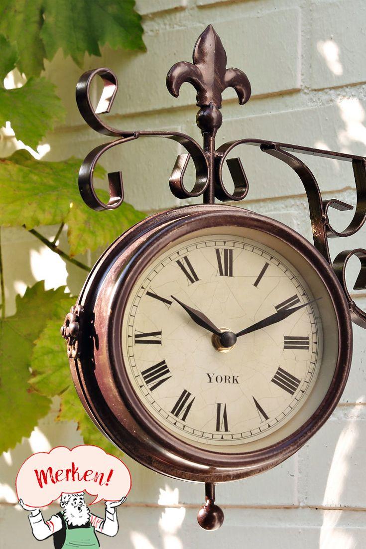 Garten Uhr Thermometer Old York Thermometer Uhr Wetterstationen