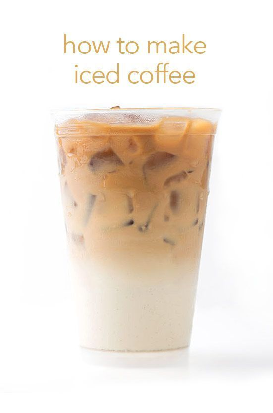 Good morning! It's easy to make iced coffee right at home.