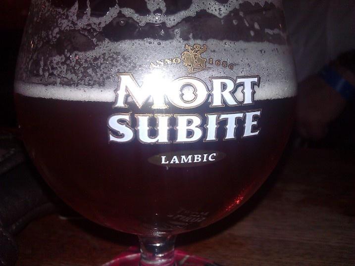 Witte Lambic, Brouwerij Mort Subite,Lambic, 4.5%ABV