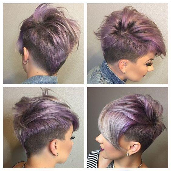 Gewagte Kurzhaarschnitte! Nur für Frauen, die sich mal eine außergewöhnliche Frisur zutrauen! - Neue Frisur