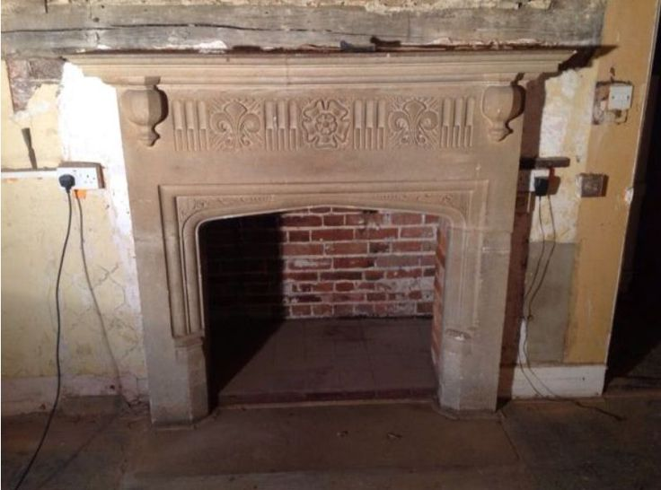 Antique English Tudor-Revival Bathstone Fireplace 19th Century for sale on  salvoWEB the online marketplace - 17 Best Ideas About Fireplaces For Sale On Pinterest Wood