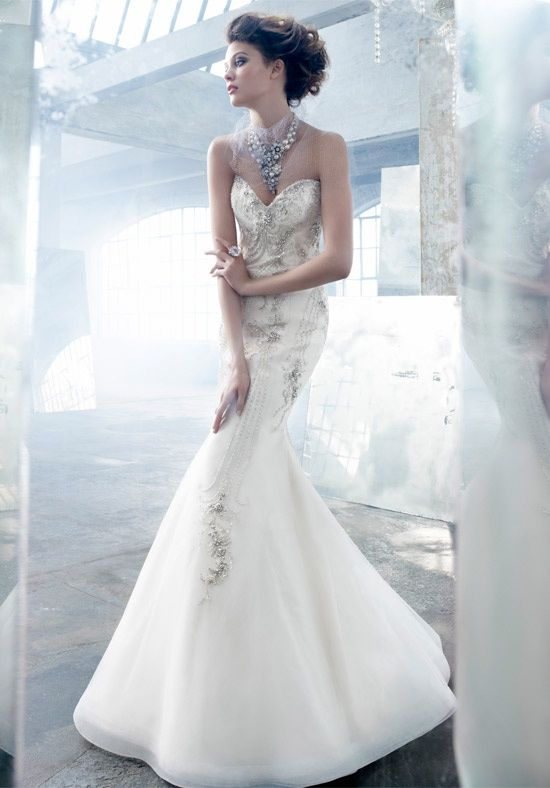 71 best Lazaro wedding dresses images on Pinterest ...