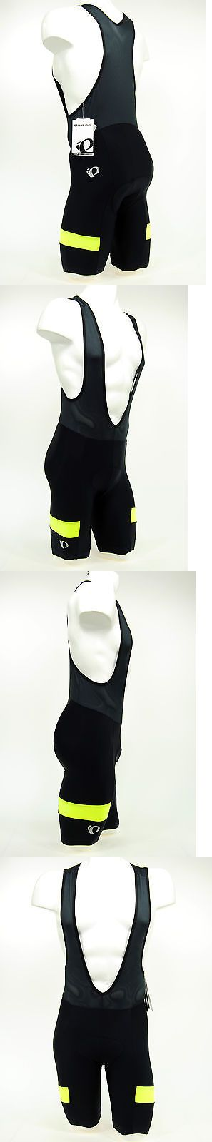 Shorts 177853: Pearl Izumi 2017 Escape Quest Splice Bike Cycling Bib Shorts Black Yellow,Medium -> BUY IT NOW ONLY: $49.88 on eBay!