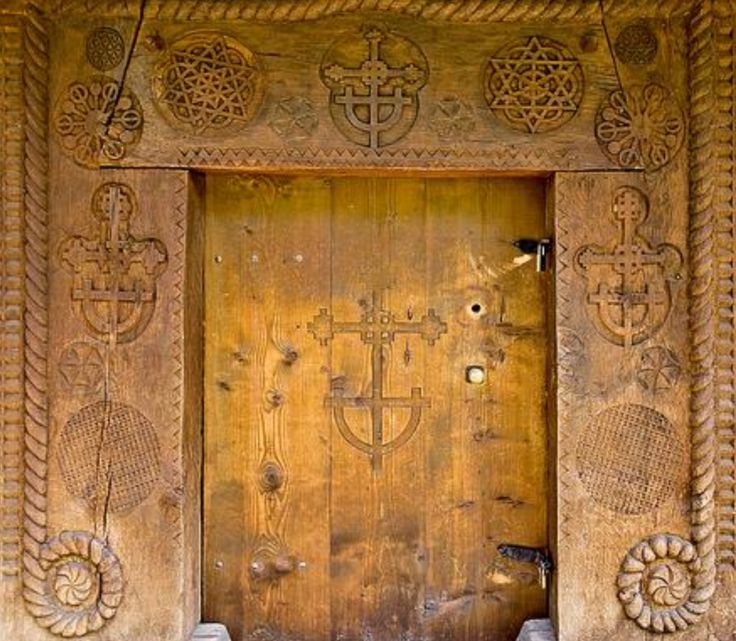 Romanians erect gates at the entries to homes, churches, graveyards. On these gates are incised protective symbols, as each gateway marks a passage from an impure place to a better one. http://symbols-connecting-people.com/materiale/Dictionary_Vol3.pdf