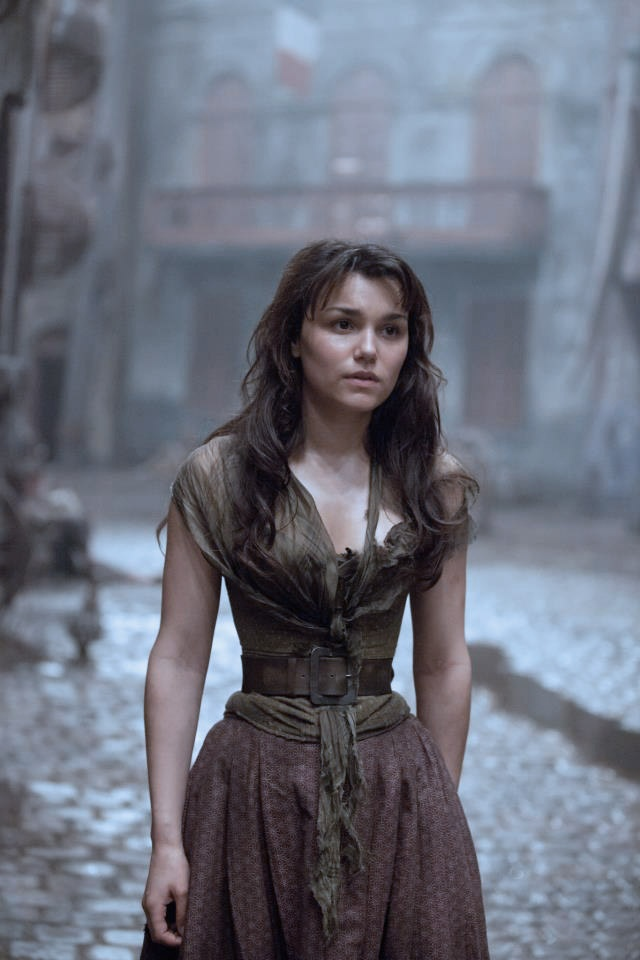 Samantha Barks is playing Eponine