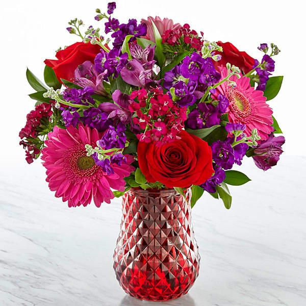 """Get the """"Lucky in Love"""" bouquet from FTD for $36+. Shop all of their flowers here. AND their best sellers are 20% off right now (including the bouquet pictured above) — check them out here!Check out even more fabulous flowers in """"23 Gorgeous Bouquets From FTD Your Valentine Will Adore""""For more like this, check out our """"17 Of The Best Places To Order Flowers Online"""" gift guide!"""