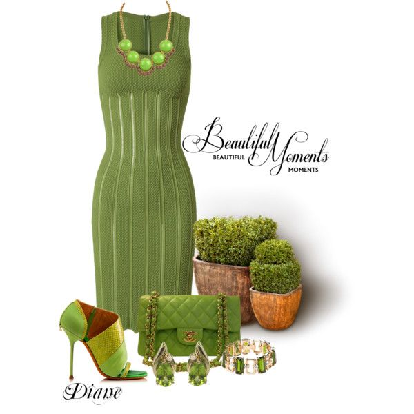 """Beautiful Moments in Green"" by diane-shelton on Polyvore"