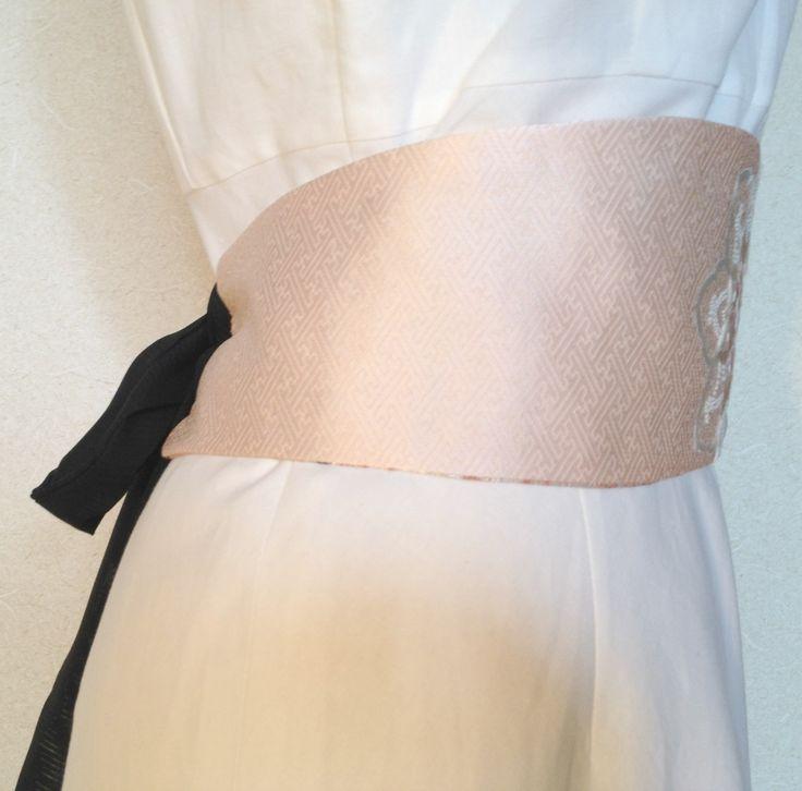 100% Silk Obi Sash - Japanese Elegance