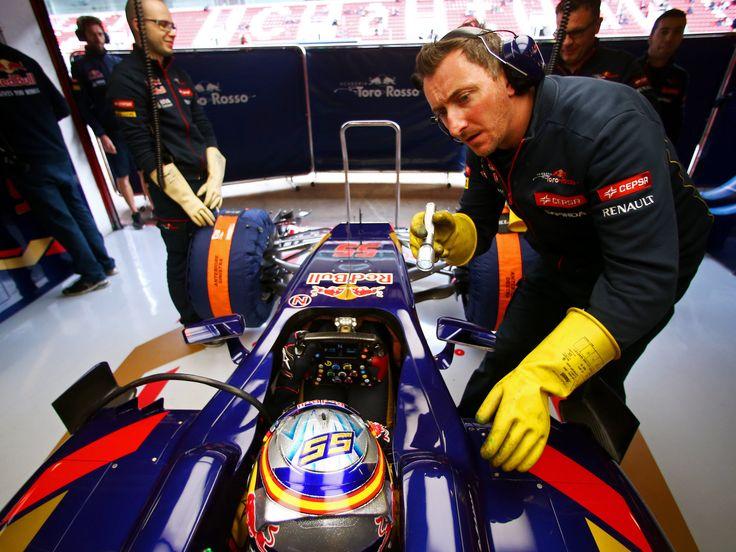 BARCELONA TEST 03 - DAY 1 & 2 | Scuderia Toro Rosso