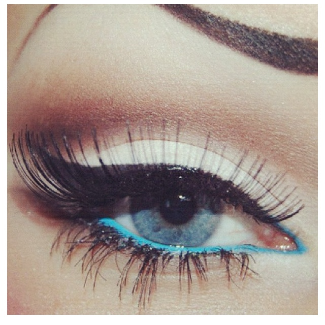 eyeliner: Make Up, Eye Makeup, Eyeliner, Cat Eye, Style, Blue Eyes, Eyemakeup, Beauty, Hair