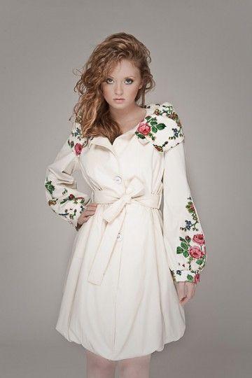 coat inspired by polish folk    http://www.moxmoda.com/