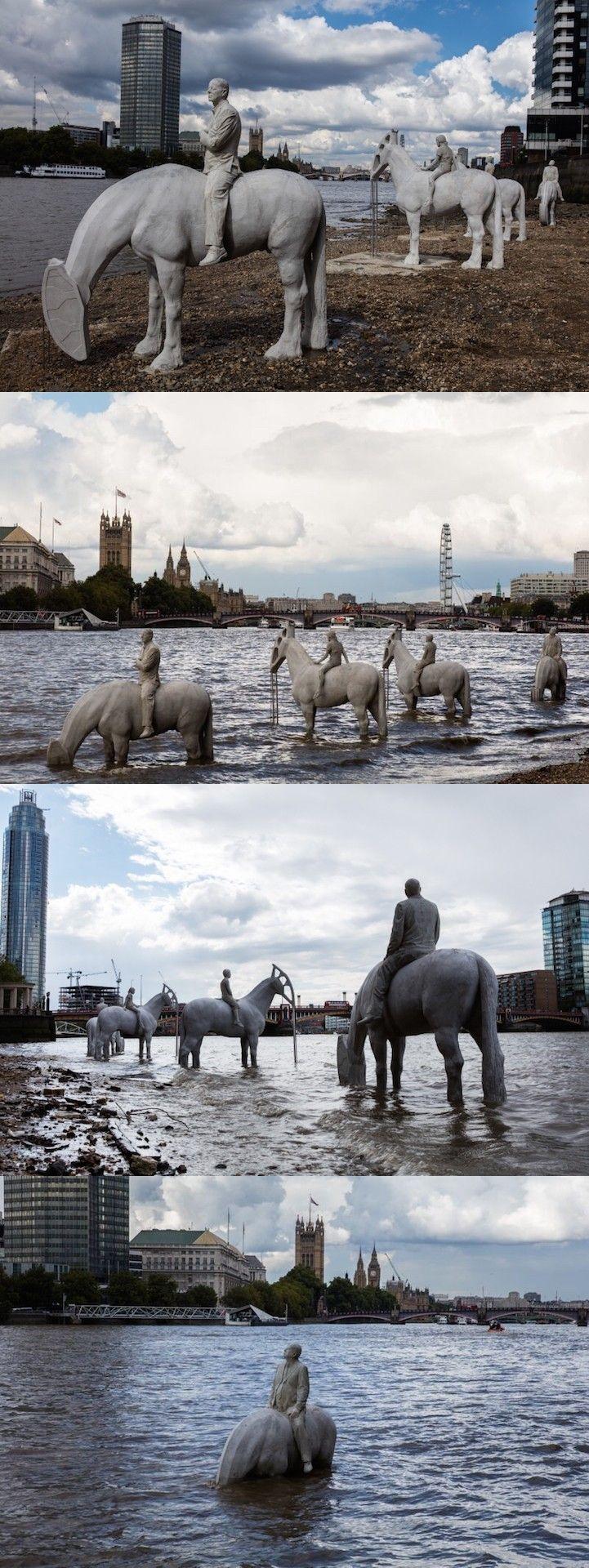 Jason deCaires Taylor - Four Horsemen