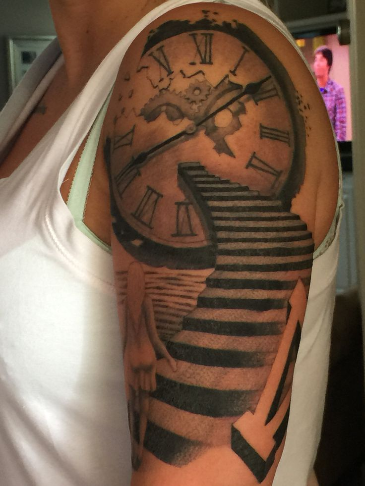 1000+ images about Tattoo on Pinterest   Sleeve, Clock ...