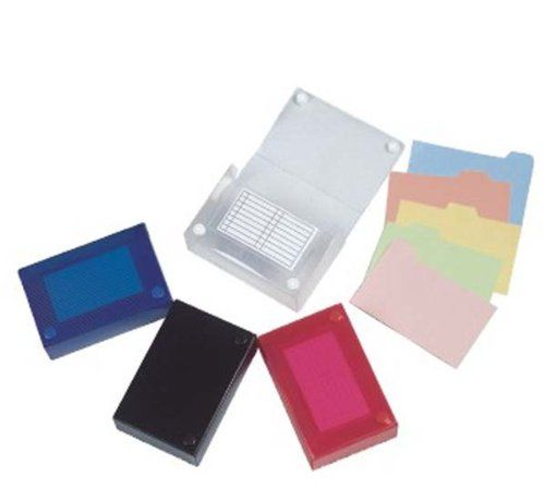 Filexec 5 x 8 Inch Index Case, Snap Button Closure, 5 Index Dividers, Assorted (Pack of 4) (50094-2021) Filexec http://www.amazon.com/dp/B0036WHK3E/ref=cm_sw_r_pi_dp_K3jAvb16MVQW2