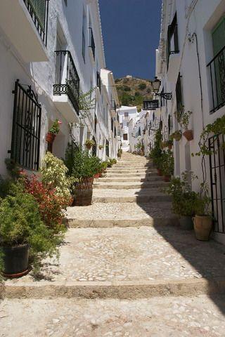 Frigiliana, provincia de Málaga, Andalucía, España