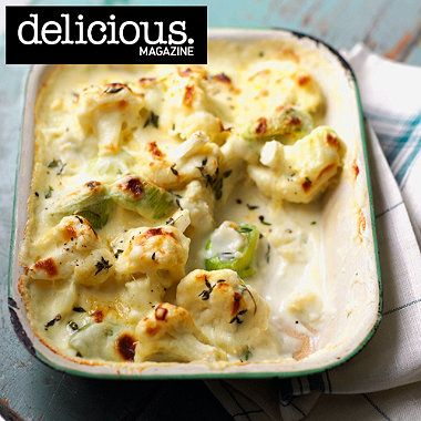Cheddar, cauliflower and leek gratin recipe - From Lakeland