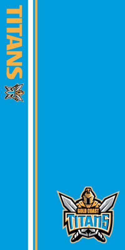 NRL Titans Beach Towel - Wholesale Pool & Spa Supplies Pty Ltd