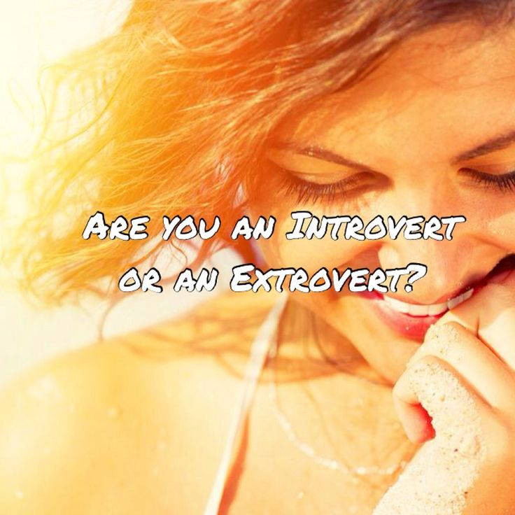 Introversion and extroversion are two different personality types. Based off of the theories of Carl Jung, the two personality preferences are based on where you focus your attention and direct your energy. ...Read more: