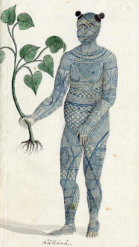 Nuku Hiva hõimupealik Keatonui / Nuku Hivan tribal chief Keatonui