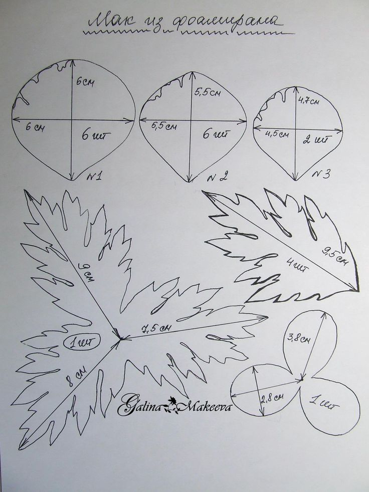 Выкройка мака для моего мастер-класса из фомиарта (фоамирана, ревелюра), который можно найти тут https://www.youtube.com/channel/UC9VIVRjxqt0nMRqFTYJVnsQ/videos фоамиран фом фомиарт ревелюр goma EVA poppy
