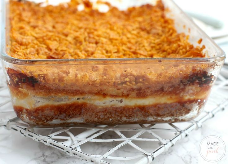 Prepare This Breakfast Casserole Of Bread Ham And Cheese On