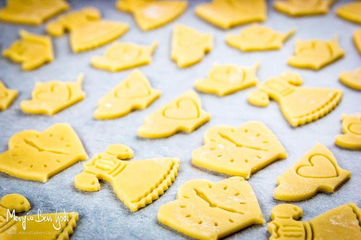 Biscotti a base di pasta frolla