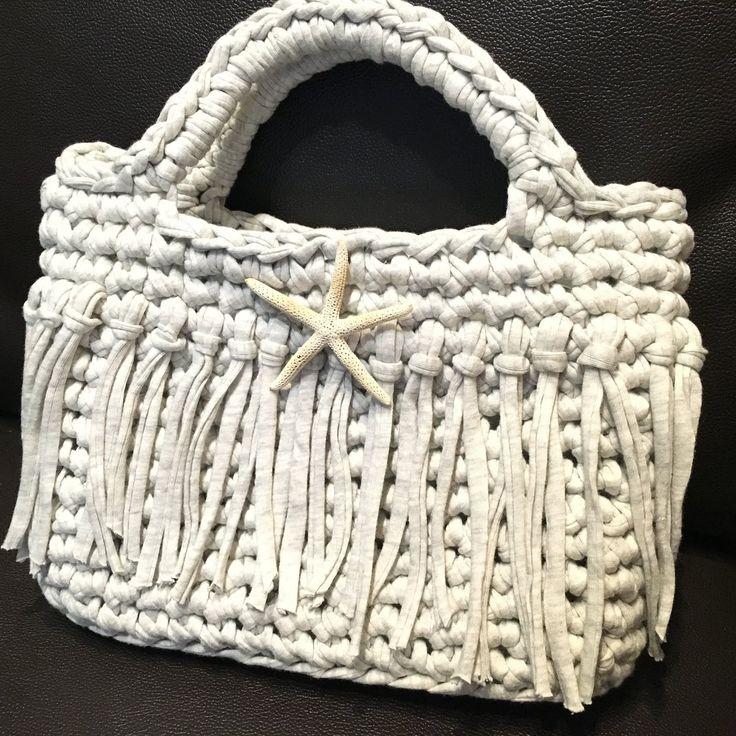 Guild by POD Tシャツヤーンのバッグの編み図                              …