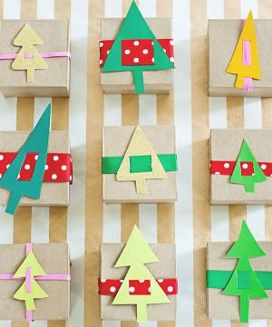12 DIY Advent Calendars to Help You Count Down Christmas: DIY Paper Trees Advent Countdown