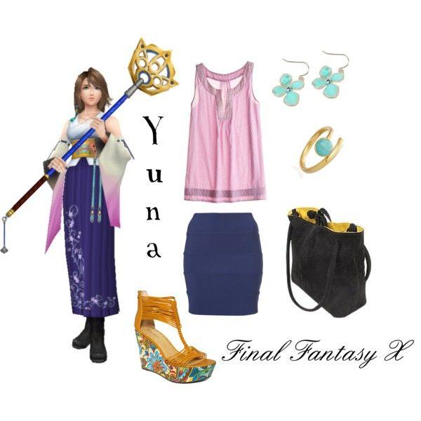 Yuna, created by elocinecko.polyvore.com