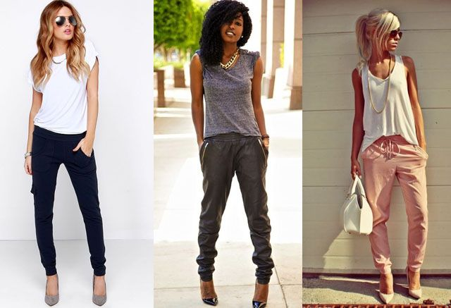 How to Wear Joggers? 12 Outfits with Jogger Pants | Fashion Rules