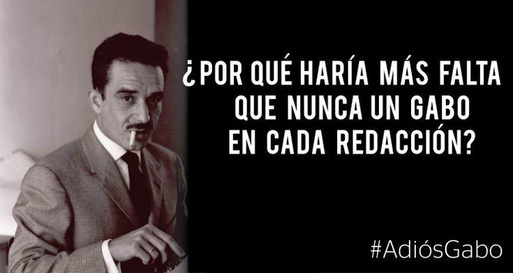 Las redacciones necesitan más que nunca un Gabo | Clases de Periodismo