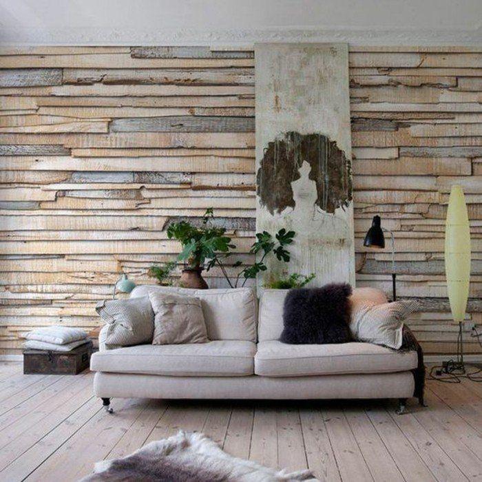 les 25 meilleures id es de la cat gorie papier peint effet bois sur pinterest restaurant bois. Black Bedroom Furniture Sets. Home Design Ideas