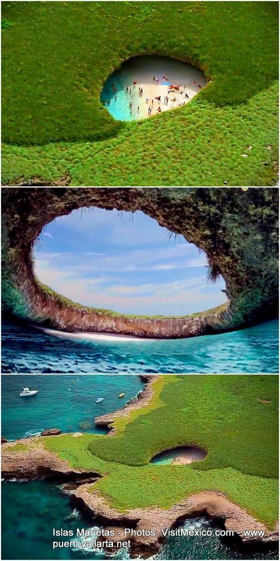 Playa escondida, Marieta Islands, #Mexico