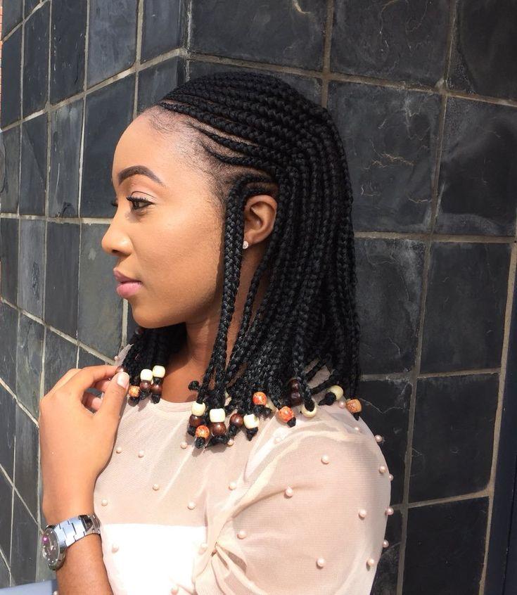 Braids Braidsshort Braidsside Braidsvideos Braided Hairstyles Box Braids Hairstyles For Black Women Bob Braids Hairstyles