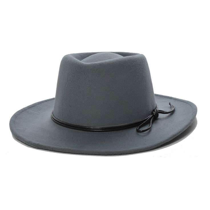Jay Beige Homburg Vegan Hat