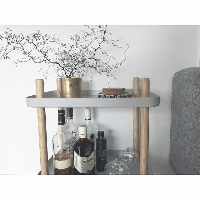A home bar in style! Every home should have one similar!